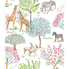 This item: A Perfect World Primary On The Savanna Wallpaper