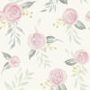 This item: Magnolia Home Pink Watercolor Rose Peel and Stick Wallpaper