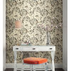 This item: Simply Candice Teal Flourish Peel and Stick Wallpaper