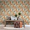 This item: Orange Aztec Peel and Stick Wallpaper