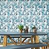 This item: Blue Aztec Peel and Stick Wallpaper