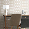 This item: Beige Modern Trellis Peel and Stick Wallpaper