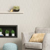 This item: Beige Wave Ogee Peel and Stick Wallpaper