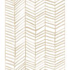 This item: Cat Coquillette Herringbone Tan Peel And Stick Wallpaper – SAMPLE SWATCH ONLY