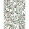 This item: Willow Branch Blue, Green And Pink Peel And Stick Wallpaper – SAMPLE SWATCH ONLY