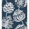 This item: Batik Jacobean Blue And White Peel And Stick Wallpaper