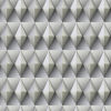 This item: Paragon Geometric Gray And Taupe Peel And Stick Wallpaper – SAMPLE SWATCH ONLY