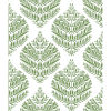 This item: Hygge Fern Damask Green And White Peel And Stick Wallpaper – SAMPLE SWATCH ONLY