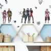 This item: Descendents 3 Blue And White Peel and Stick wall Decal