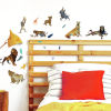 This item: The Lion King Character Brown Peel and Stick wall Decal