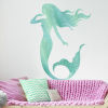 This item: Glitter Mermaid Blue, Aqua And Teal Peel and Stick Gaint Wall Decal