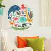This item: We Are One Animal Red, Orange, Yellow, Blue And Green Peel and Stick wall Decal