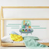 This item: Animal Underwater Expedition Gray, Orange, Yellow, Green And Blue Peel and Stick Gaint Wall Decal