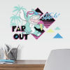 This item: Disney Stitch Far Out Blue, Aqua And Yellow Peel and Stick wall Decal