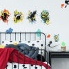 This item: Harry Potter Hogwarts House Orange, Yellow And Blue Peel and Stick wall Decal