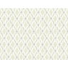 This item: Small Prints Resource Library Beige Two-Inch Dyed Ogee Wallpaper