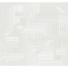 This item: Stripes Resource Library Gray and White All Lined Up Wallpaper