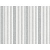 This item: Stripes Resource Library Charcoal French Linen Stripe Wallpaper