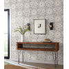This item: Silhouettes Gray Pomegranate Bloom Wallpaper