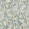 This item: Antonina Vella Natural Opalescence Light Blue and Muted Green Rainforest Leaves Wallpaper