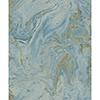 This item: Antonina Vella Natural Opalescence Bright Blue and Gold Wallpaper