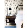 This item: Magnolia Home Gray White Heirloom Rose Peel and Stick Wallpaper
