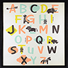 This item: Alphabet Framed Linen Float