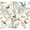 This item: Ashford Toiles Papillion Removable Wallpaper