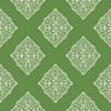 This item: Ashford House Tropics Medium Green and White Henna Tile Wallpaper