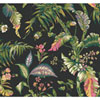 This item: Ashford House Tropics Black and Green Fiji Garden Wallpaper: Sample Swatch Only