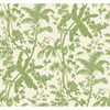 This item: Ashford House Tropics Medium Green and Cream Palm Shadow Wallpaper: Sample Swatch Only