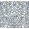 This item: Antonina Vella Blue Kashmir Luxury Paisley Wallpaper