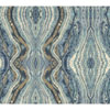 This item: Antonina Vella Blue Kashmir Kaleidoscope Wallpaper: Sample Swatch Only