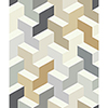 This item: Culture Club Neutral Geometric Wallpaper - SAMPLE SWATCH ONLY