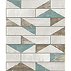 This item: Culture Club Teal and Ochre Geometric Wallpaper - SAMPLE SWATCH ONLY