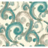 This item: Candice Olson Modern Artisan Arabesque Wallpaper: Sample Swatch Only