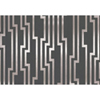 This item: Candice Olson Shimmering Details Black and Silver Velocity Wallpaper