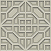 This item: Dimensional Artistry Taupe Asian Lattice Wallpaper