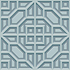 This item: Dimensional Artistry Blue Asian Lattice Wallpaper - SAMPLE SWATCH ONLY