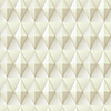 This item: Dimensional Artistry Tan Paragon Geometric Wallpaper - SAMPLE SWATCH ONLY