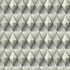 This item: Dimensional Artistry Grey Paragon Geometric Wallpaper - SAMPLE SWATCH ONLY