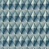 This item: Dimensional Artistry Blue Paragon Geometric Wallpaper