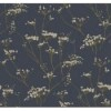 This item: Modern Luxe Deepest Slate Blue and Golden Glow Enchanted Wallpaper