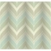 This item: Modern Luxe Pale Mint Green and Faded Sky Blue Gatsby Wallpaper: Sample Swatch Only