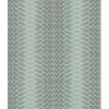This item: Modern Luxe Frosted Sea Glass Green and Breakers White Plush Impulse Wallpaper