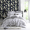 This item: Florence Broadhurst Navy Egrets Wallpaper
