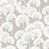 This item: Florence Broadhurst Taupe Japanese Floral Wallpaper - SAMPLE SWATCH ONLY