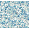 This item: Waverly Garden Party Blue Wallpaper - SAMPLE SWATCH ONLY