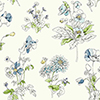 This item: Waverly Garden Party Blue Floral Wallpaper