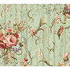 This item: Inspired by Color Blue Floral Bouquets Wallpaper